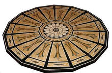 Marble Stone Inlaid Medallion Coffee Table Top Antique Art Work Home Decor