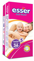 Baby Diapers, Junior size 5