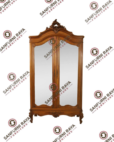 French Style Armoires or Wardrobe Two Doors