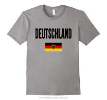 German flag print 100% cotton 200 gsm custome T-shirt for men