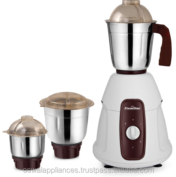 """Aiba"" 500 Watts Mixer Grinder with 3 jar's"