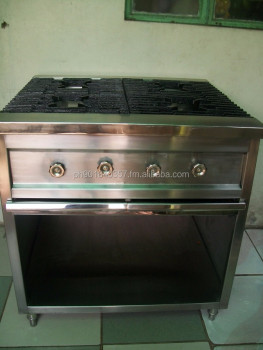 FOUR OPEN TOP BURNER