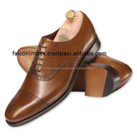 Latest Brand Name Men's Fashion All Real Cow Leather Dress Shoes