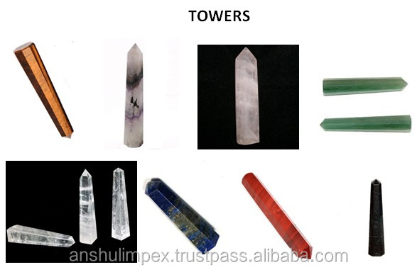 Rose Quartz Tower Points