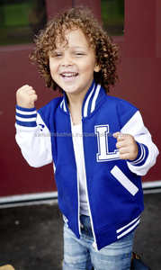 Children\Kids\child\baby boy\girl baseball\Letterman school\club\children team varsity jacket with customize front back logo