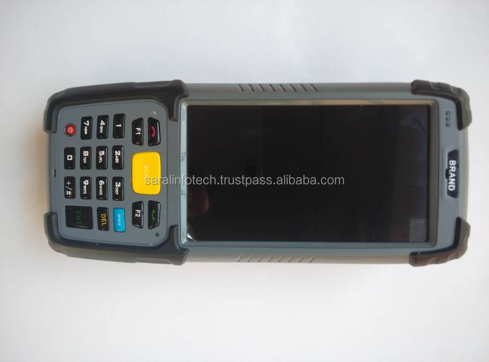 4.5 inch Android 5.1 Industrial handheld PDA with 1D/2D barcode reader