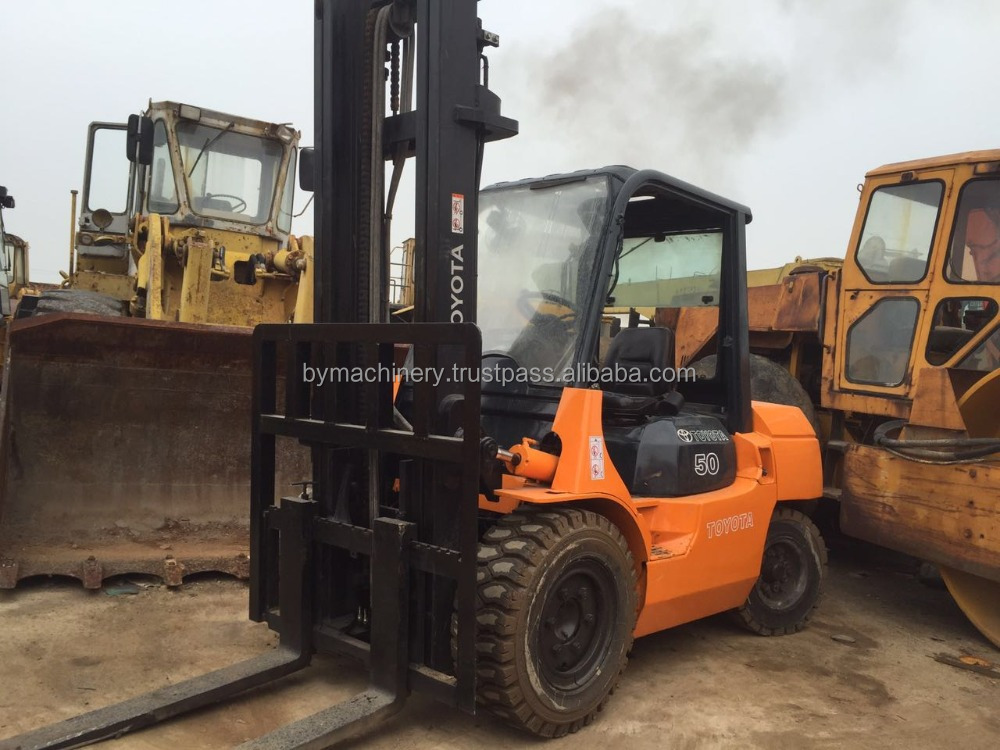 good price japan made used toyota 5t forklift hot sale