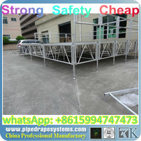 BEST steel stage frame,top sell used aluminum portable stage for sale