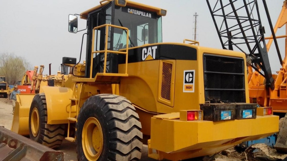 used construction equipment caterpiller 966H wheel loader