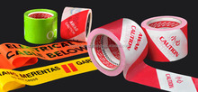 Eye-Catching Awas Tape or Caution Tape or Barricade Tape of Good Flexibility