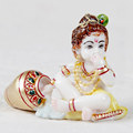 Handmade Resin Statue Art And Craft Gallery India Hindu idols Religious Laddu Gopal Indian God Krishna