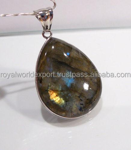 Labradorite Gemstone Pendant/Natural gemstone pendant/Wholesale gemstone pendant