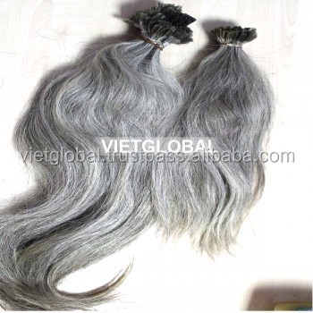 hot selling I,U,V,flat tip human hair extension 20''