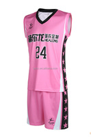 Hot sale jersey basketball uniforms women's basketball game jersey