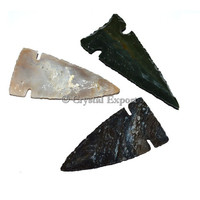 Mix Design Polished Arrowheads - India Arrowheads