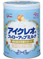 grow up milk powder glico icreo follow-upmilk baby milk powder made in japan