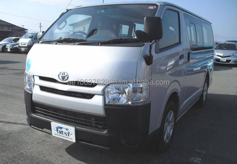2015 TOYOTA HIACE RIGHT HAND DRIVE