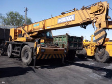 used japanese kato rough terrain crane 50ton , used KR500 building rough crane kato 50ton