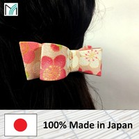 colorful and hot selling gift for mother day hair accessories with many patterns made in Japan