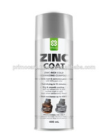Zinc Cold Galvanize Spray Paint Silver PRIMO BRIGHT ZINC