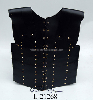 Medieval Leather Body Armor Jacket India