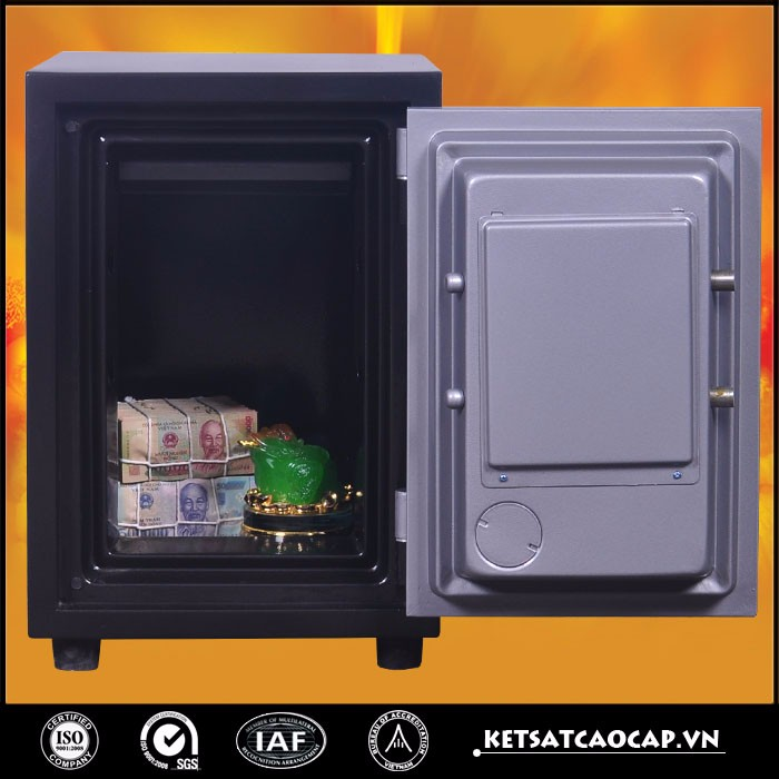 Mini fireproof steel safe box for home kids- 80D E