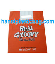 PE die cut bag with EPI additive