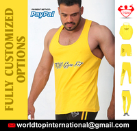 Tank Top Singlet Gym / Unlimited Custom Singlet With T Back / Cheap Fitness Gym Tank Top Shirts