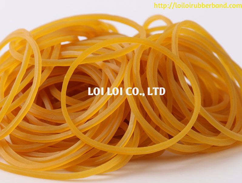100% Rubber Thailand elastic Bands For Sale