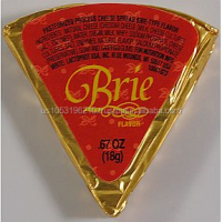 Gourmet Brie Flavor Cheese Spread Wedge