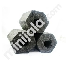 Coconut Shell Hexagon Briquette Charcoal Indonesia Grade B