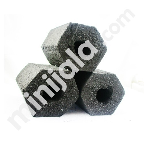 Coconut Shell Hexagon Briquette Charcoal Indonesia