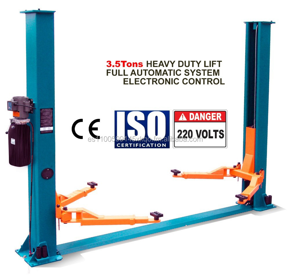 2 TWO POST LIFT 3.2 Ton - CAR LIFT - DOUBLE COLUMN / PISTON
