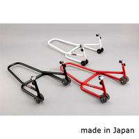 Rear stand for motorcycle made in Japan, available for various brands