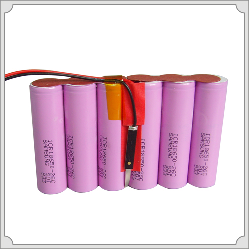 Rechargeable Li-ion Battery Pack 7.4V/4.4ah with PCM 2.5A