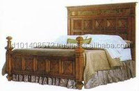 Teak Beds Indoor Furniture Modern Design.