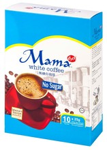 Mama White Coffee no sugar 25 g, instant coffee, Halal product