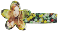 Hot sale women headdress hair pin head piece fashion hair clip bow clamp for sublimation