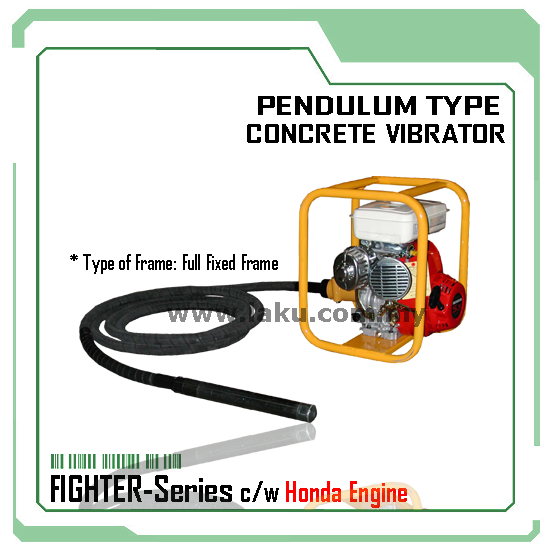 Pendulum Type Concrete Vibrator (FIGHTER-Series) TOKU