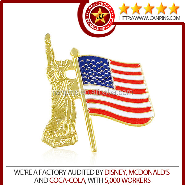 Wholesale Superior Quality National Flag Pin Badge