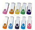 Bulk Cheap 1gb 2gb 4gb 8gb Metal & Plastic Swivel Usb Flash Drive