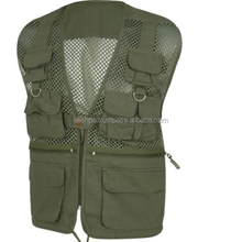 MESH HUNTERS VEST S-3XL RIPSTOP HUNTING FISHING