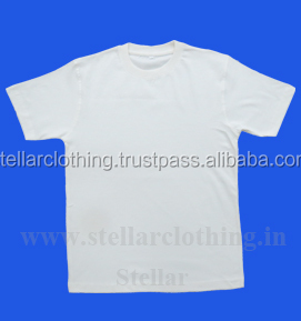 120 Grams Cheap Quality White T-Shirt