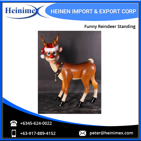 Factory Direct Sale Funny Reindeer Standing