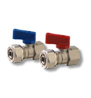"Firat Brass 1/2"" Mini Female Ball Valve (Pex Connection) Turkey"