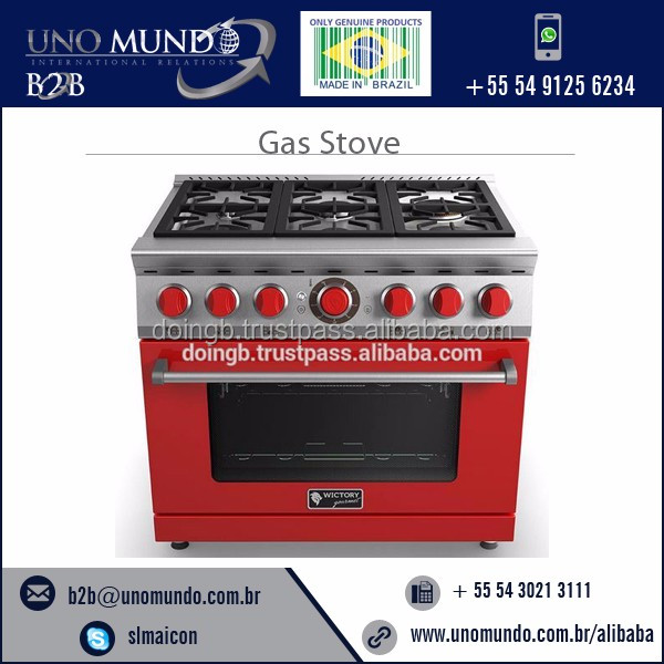 Gas Stove Gourmet Wictory 6