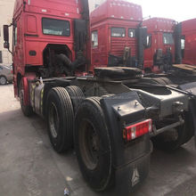 6X4 Left hand driving 10wheeler truck Used HOWO TRUCK HEAD