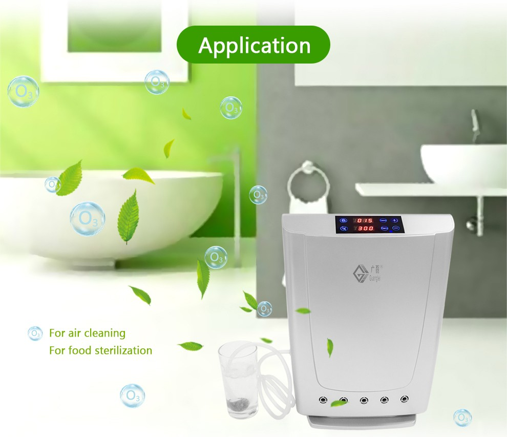Home cold plasma ozone generater for water and air purifier