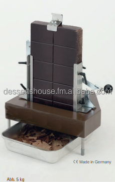 The Chocolate Flaking Shaving Machine for 2,5 or 5 kg blocks