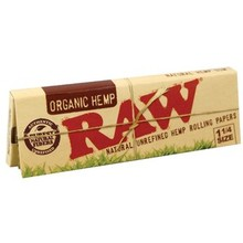 Raw Organic Unbleached Smoking Regular 1.25 (1 1/4) Papers